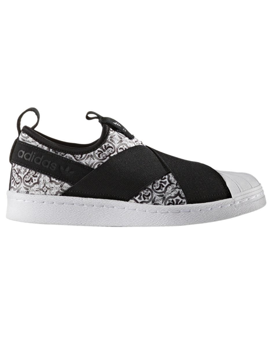 Tenis Adidas Originals Superstar Slip On para dama