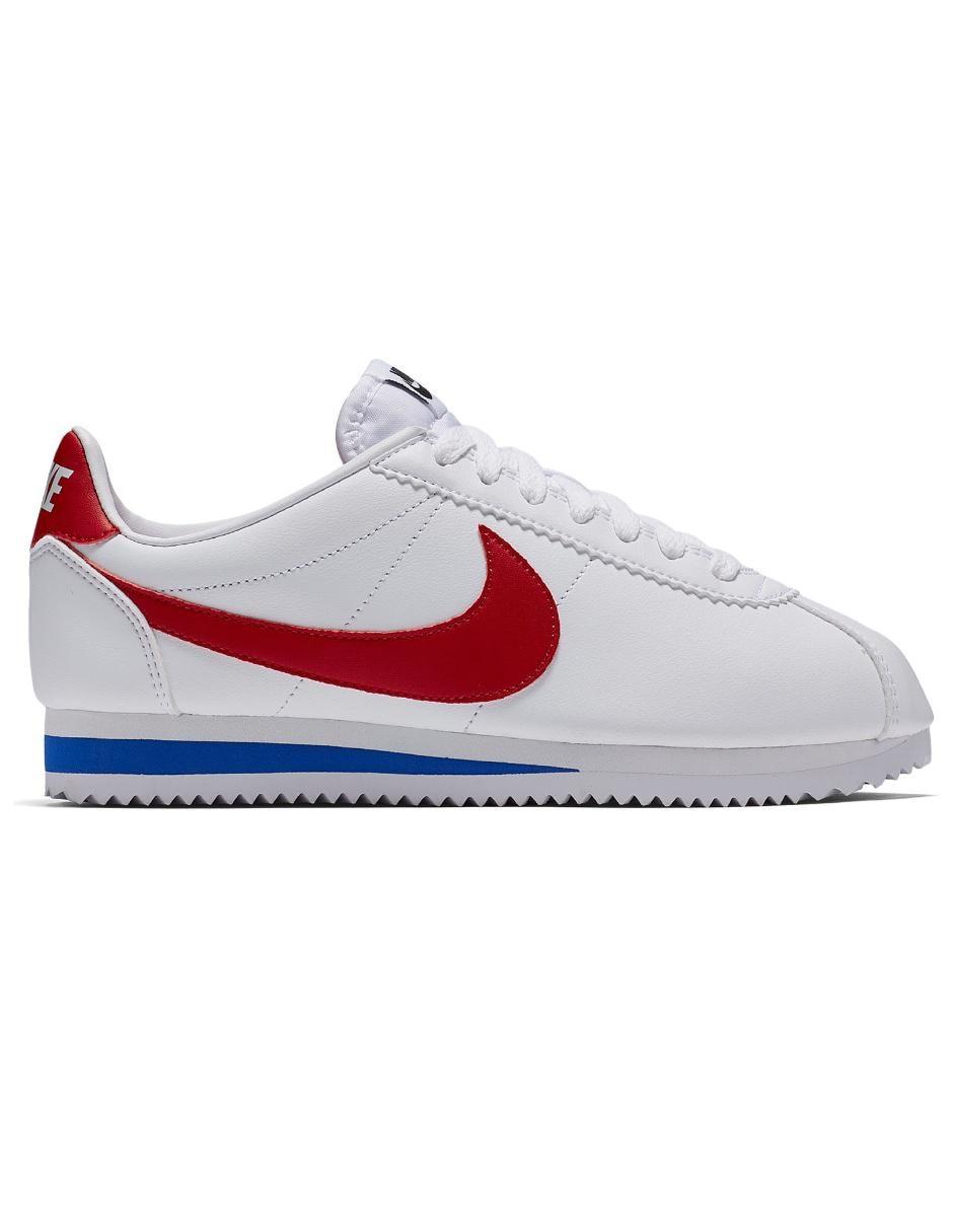 Tenis Nike Classic Cortez Leather para dama 60f012ca52647