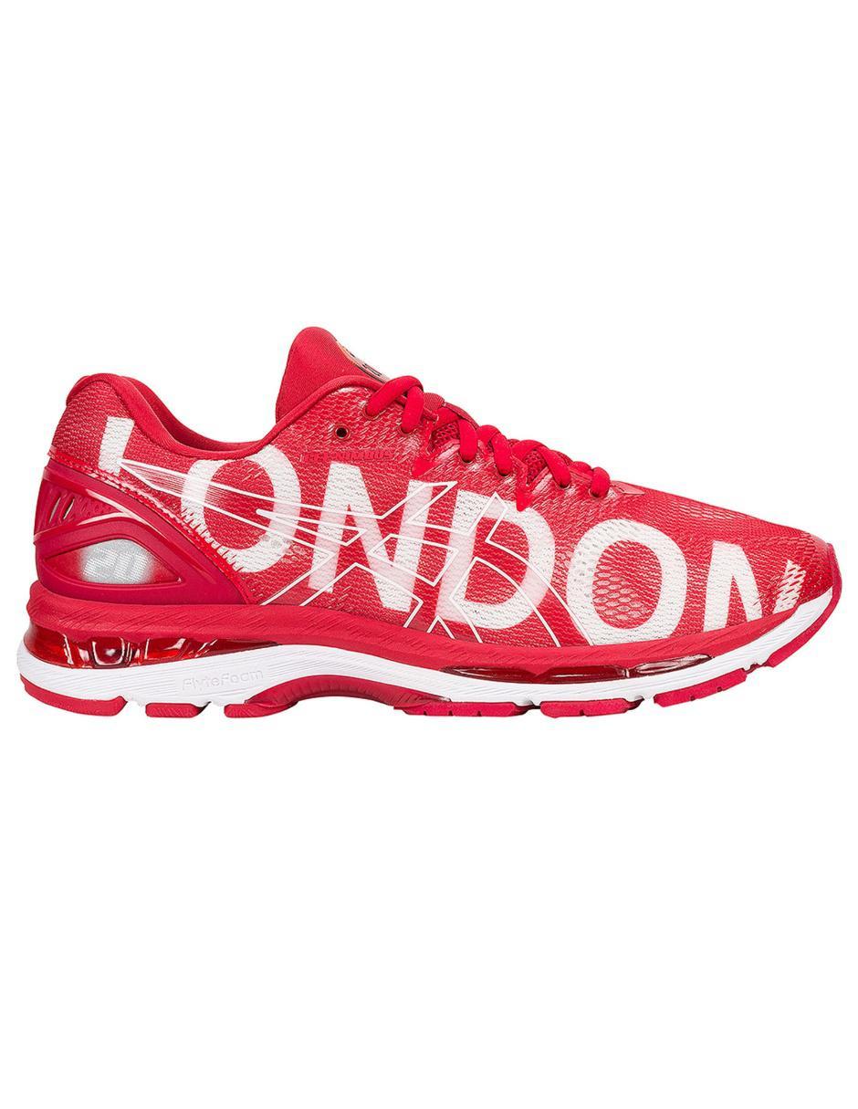 Tenis Asics Gel Nimbus 20 London correr para caballero ab5829ba32d2f