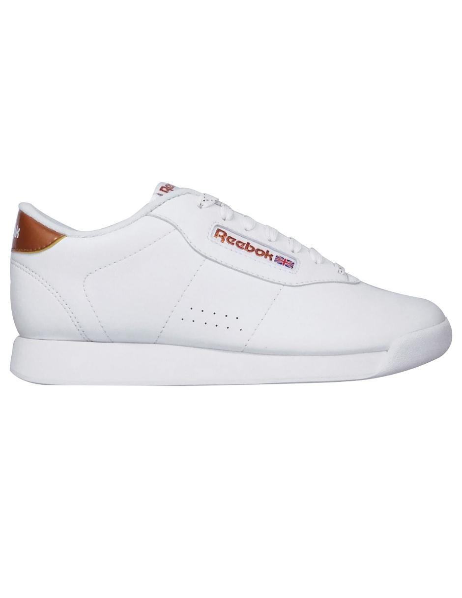 zapatos reebok princess blancos y rojos