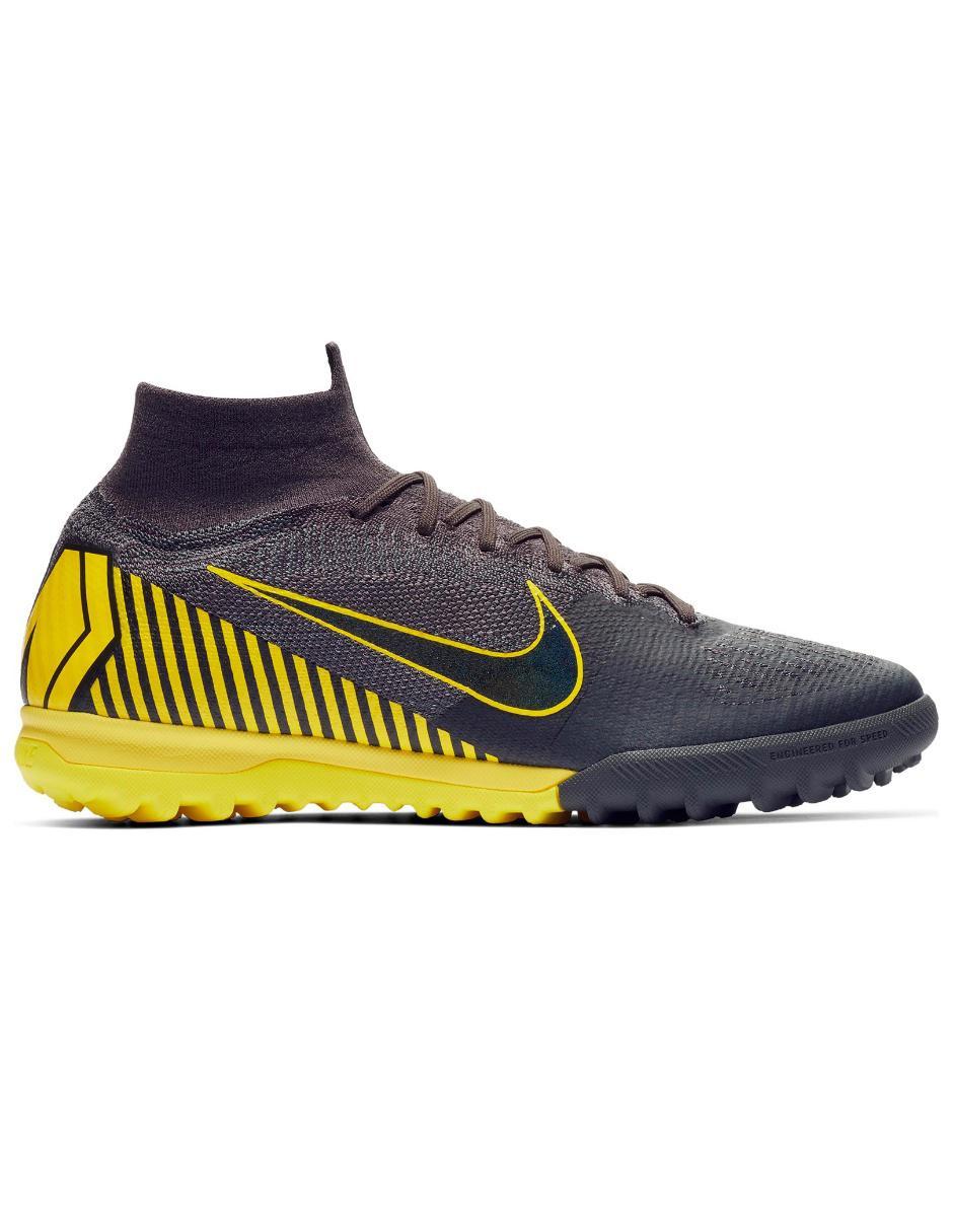 e9e894326 Tenis Nike Mercurial Superfly VI Elite TF fútbol para caballero