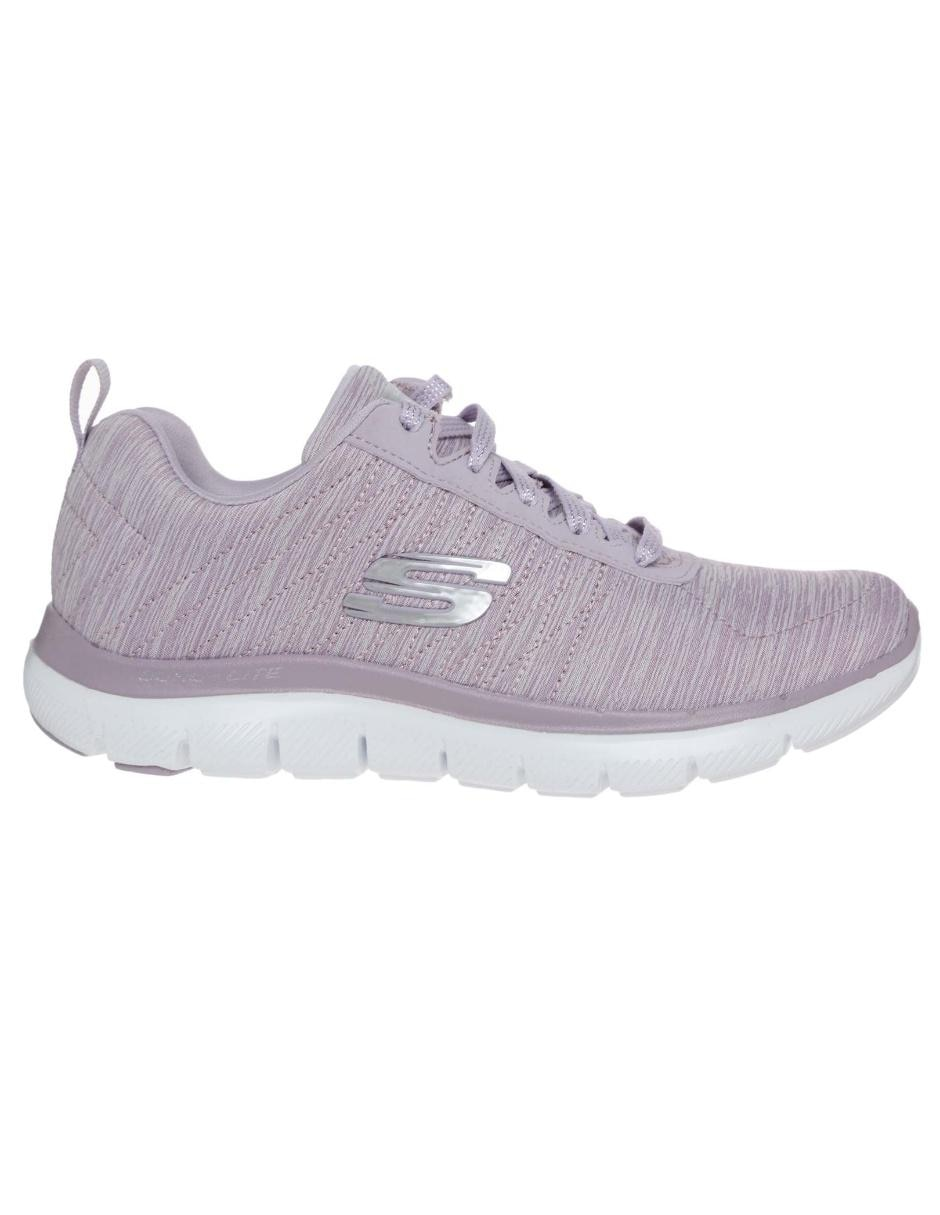 205bc4e29bc Tenis Skechers Flex Appeal 2.0 fitness para dama