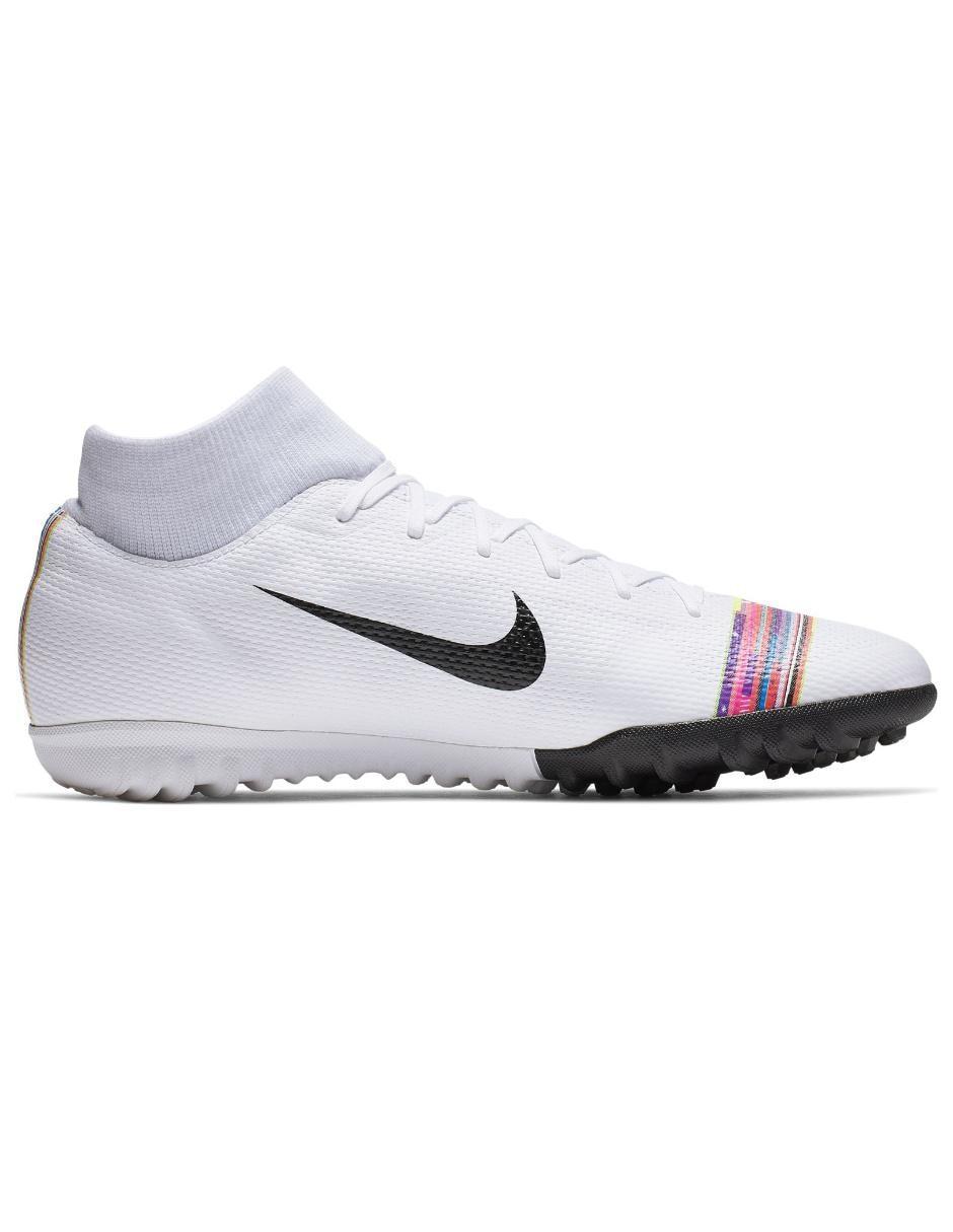 f60b255c1a Tenis Nike SuperflyX 6 Academy TF fútbol para caballero Precio Lista